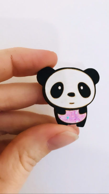 Broche Panda - MorganedcBijoux