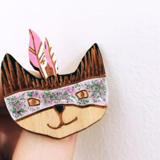 Broche Chat - Morgane dcBijoux