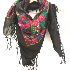 Foulard balte noir